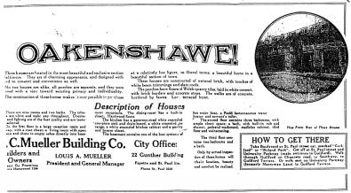 oakenshawe ad